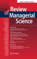 cover_review of managerial science
